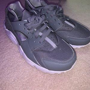 Gray Nike Huarache
